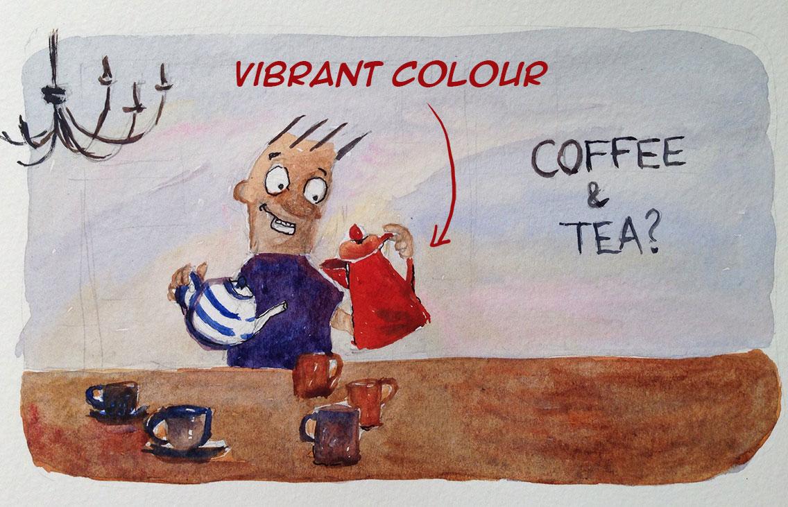 cartoon illustration colour